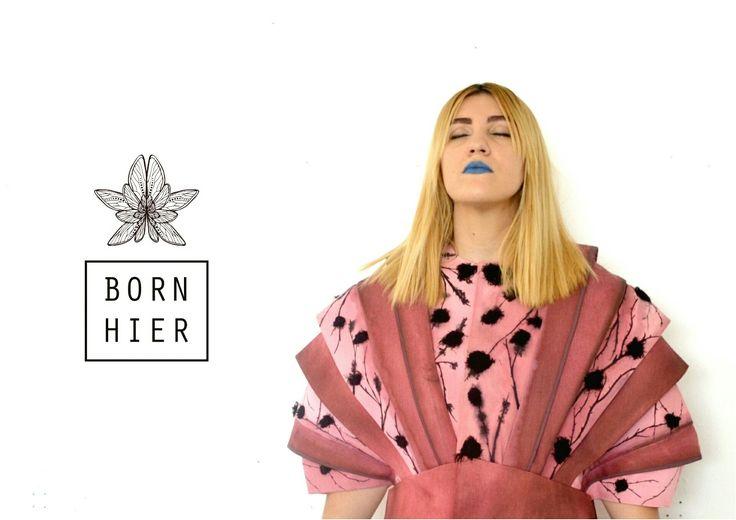 https://m.facebook.com/bornhier/  #pink #japan #armor #structure #architecture #romantic #gothic #flowers #flower #black #designer #avantgarde #art #fashion #artfashion #style #arte #embroidery #embroidered #painted #handmade #paint #thread #pattern