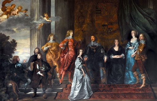 Philip Herbert, 4th Earl of Pembroke, with his Family - Anthony van Dyck - Wikimedia Commons