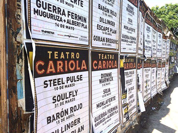 Cartelera del Cariola en los próximos meses por Leyla Espinoza  http://santiagoporconocer.cl/