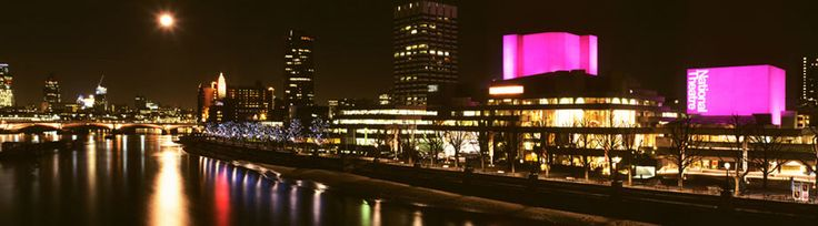 So many great places on London's South Bank. And the National Theatre is my favourite of all.