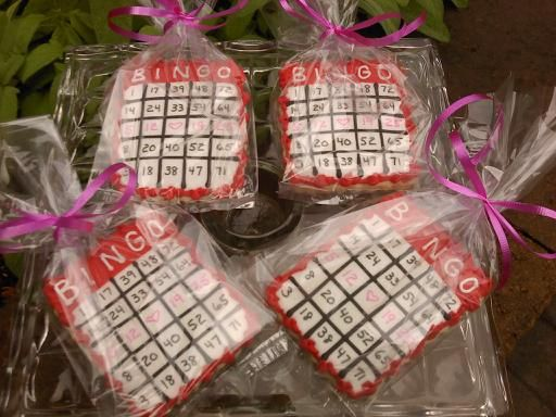 22 Best Images About Bingo Cookies Amp Sweets On Pinterest