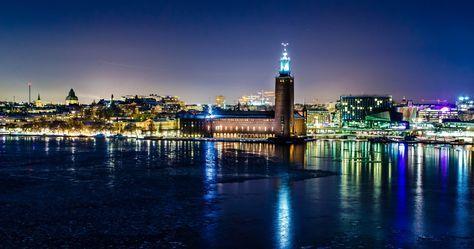 stockholm sweden winter 4k ultra hd wallpaper