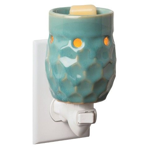 $11 Honeycomb Turquoise Plug-in Fragrance Warmer | Target