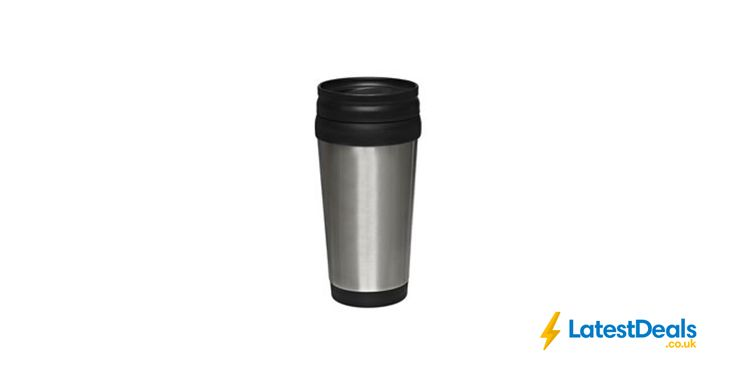 Wilko Stainless Steel Travel Mug Free C&C, £1.50
