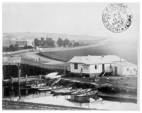 Anglers Hotel, Maribyrnong, 1872