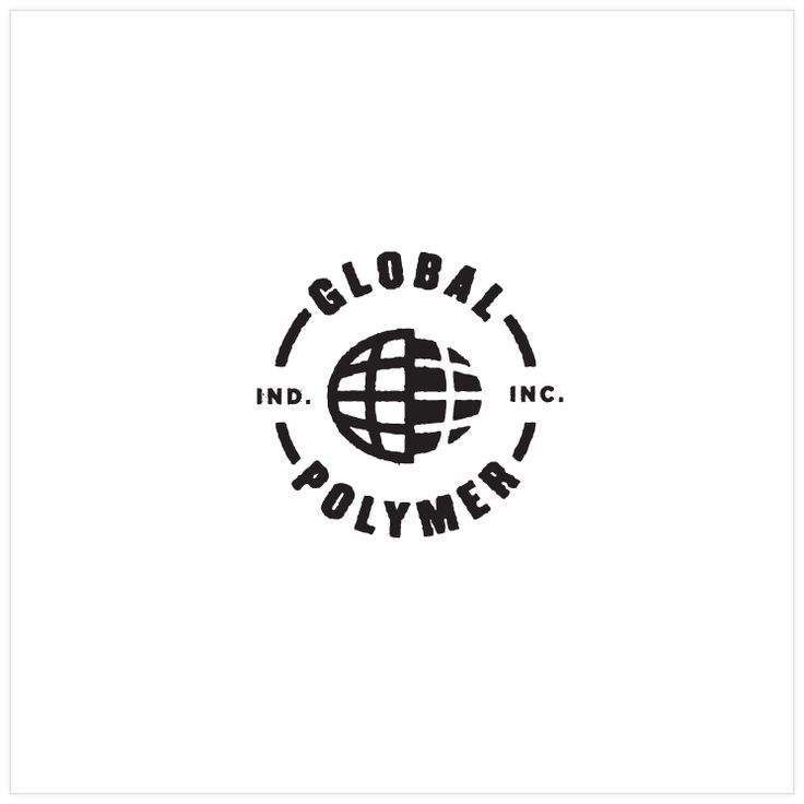 Alternative logo design for Global Polymer