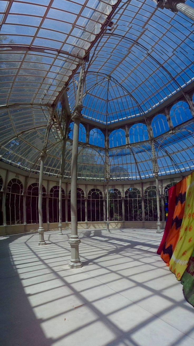 Madrid - Palazzo di cristallo Ph. Elettra Valentini