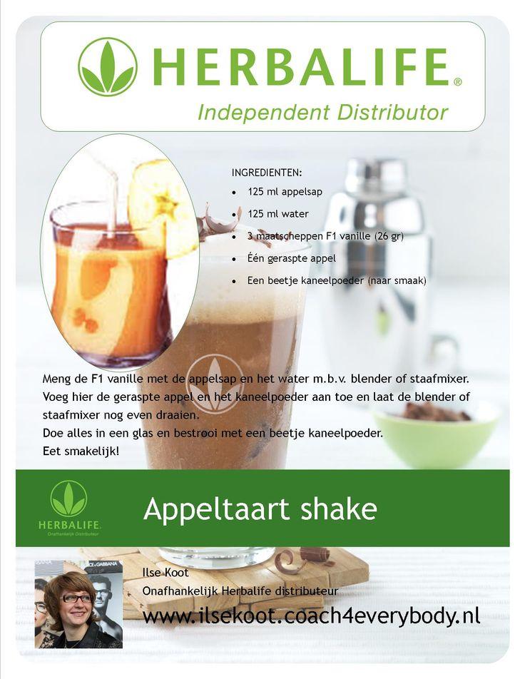 appeltaart shake #Herbalife
