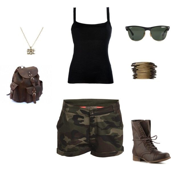 hiking outfit