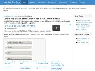 Find the list of all banks in India with details here: http://www.bankswiftifsccode.com/list-of-all-banks-in-india.php