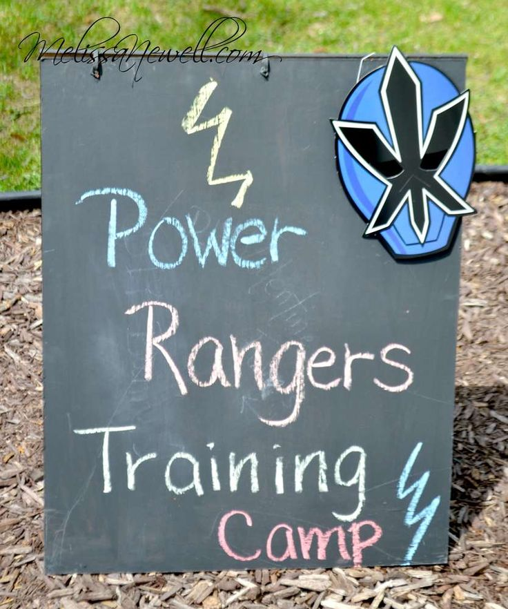 Power Rangers Birthday Party Ideas   Photo 2 of 35   Catch My Party