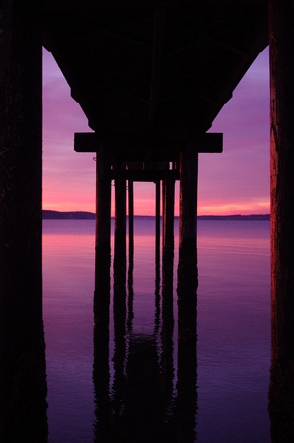 Sunset on Camano Island 1/1/2011