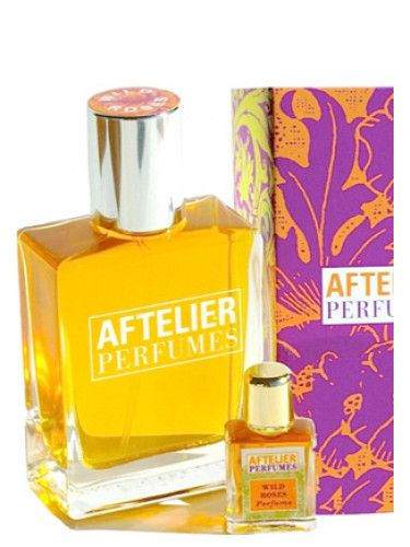 Wild Roses Aftelier for women and men (2012)...  Wild Roses by Aftelier is a Floral Woody Musk fragrance for women and men. Wild Roses was launched in 2012. Top notes are rose, heliotrope, geranium and damask rose; middle notes are apricot, pimento and taif rose; base notes are tarragon, vanilla and patchouli. Perfume rating: 3.68 out of 5 with 25 votes. WANT!!! (Go to Aftelier's website)