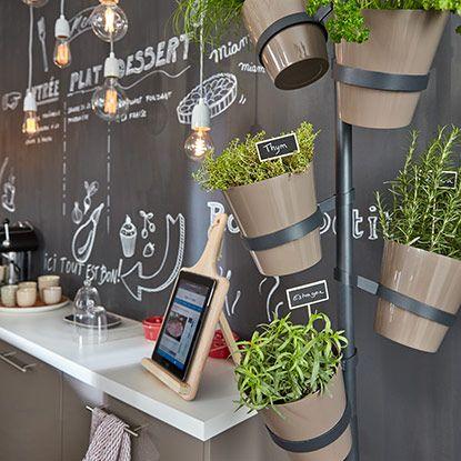 Les 25 meilleures id es de la cat gorie murs tableau - Tableau magnetique cuisine ...