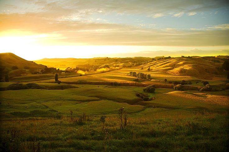 Wairarapa landscape, sun rise,  see more at New Zealand Journeys app for iPad www.gopix.co.nz