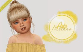 Sims 4 CC's – The Best: Toddlers & Kids Hair by Simiracle