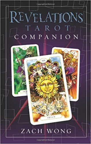 Revelations Tarot Deck & Book by Zach Wong  This is a beautiful, unique, and powerful deck that matches and expands upon traditional Tarot ideas. The new realizations and revelations you'll get when you use this deck for divination or meditation validate the name and give another reason for you to use this deck regularly. Ideal for meditation, study, and divination, treat this deck as something special...because it is!