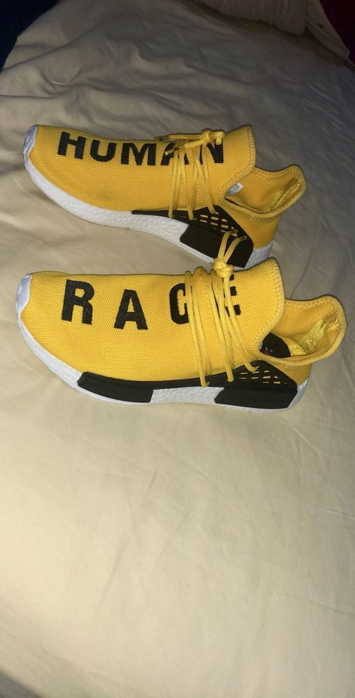 dfcc2ef3c Adidas Pharell Williams Human Race NMD Yellow Size 9.5  fashion  clothing   shoes  accessories  mensshoes  athleticshoes (ebay link)
