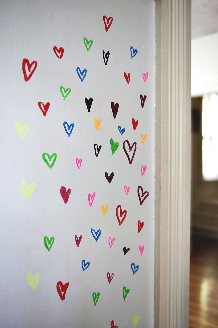 97 best whiteboard festk whiteboard paint images on pinterest paint a wall with dry erase paint 16 eye catching diy statement wall tutorials amipublicfo Images
