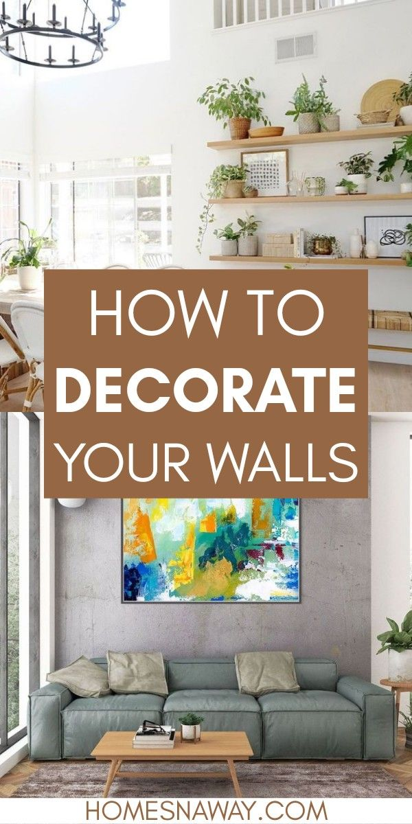 How To Decorate Your Walls No Repainting Required Decor Wall Home