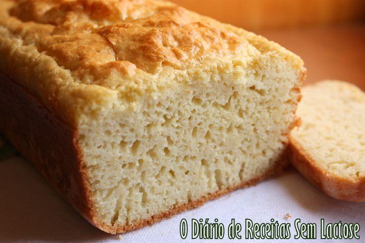 O Diário de Receitas Se m Lactose: Pão de Forma Tradicional Sem Glúten Sem Lactose