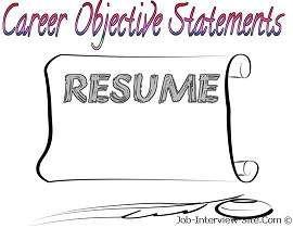 Resume #resume #career #statements