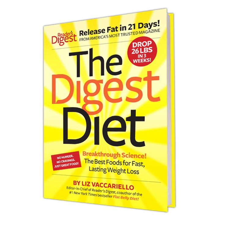 The new Digest Diet book: for a super-tasty slimdown! #digestdiet #diet #book http://promotions.readersdigest.ca/digestdietCA/index.jsp