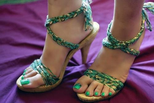 My lovely nine west heels