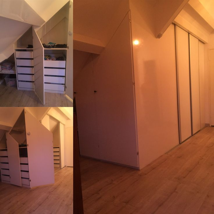 25 beste idee n over zolder kast op pinterest afgewerkte zolder slaapkamer op zolder berging - Idee kast onder helling ...