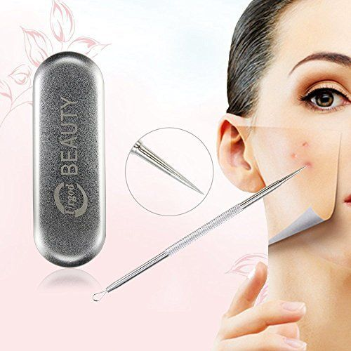 Extractor Blemish And Blackhead Remover Tool Kit Urgod Blackhead Remover Pimple Acne Extractor Tool Best Comedone Removal Kit For Treatment for Blemish Whitehead Popping Zit Removing by Urgod ** Learn more by visiting the image link.