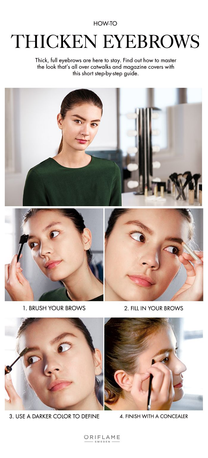 Do you want to thicken your #eyebrows but are so bored of waiting for them to grow? Us too! This is how to get them anyway!