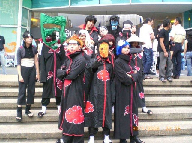Akatsuki cosplay: differentiation is the key