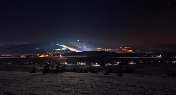 Nachtskilaufen in Oberwiesenthal