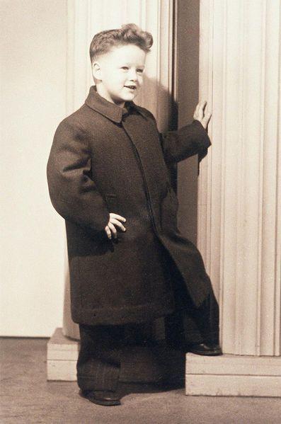 Bill Clinton, en 1950.