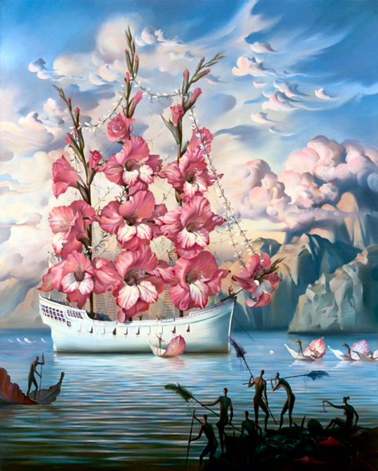 Vladimir Kush, often compared to Dalí and one of my favorites - Imgur