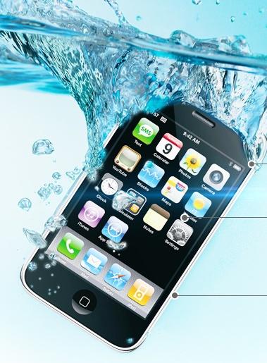 Liquipel your iPhone, 100% waterproof