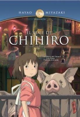 El viaje de Chihiro [videograbación : DVD] dirigida por Hayao Miyazaki // Chihiro es una niña de 10 años que viaja en coche con sus padres. Se detienen delante de un túnel, y al atravesarlo llegan a un mundo donde pasan cosas extrañas. En este universo no hay lugar para los humanos, sólo existen dioses de primera y segunda clase. Cuando descubre que padres han sido convertidos en cerdos, Chihiro se encontrará sola y asustada. Nro. de Pedido: DVD V598C EXTRAS 1