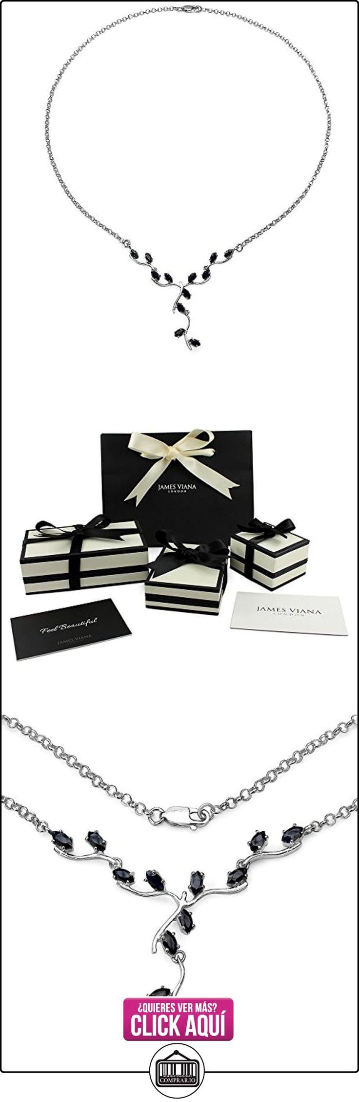 Collar de corte marquesa de plata esterlina del zafiro de 2,4 quilates para la Mujer  ✿ Joyas para niñas - Regalos ✿ ▬► Ver oferta: http://comprar.io/goto/B01MS5XPGD