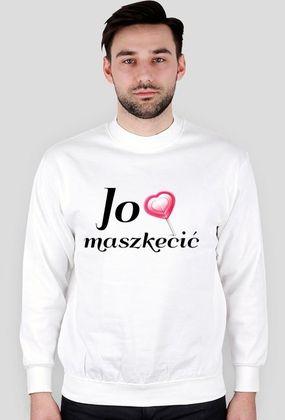"""Kocham Śląsk: Bluza z aplikacją """"Jo lubia maszkecić"""""""