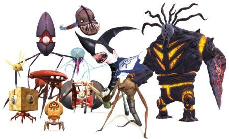 X.A.N.A's Monsters   Code Lyoko   Pinterest   Code lyoko and Monsters