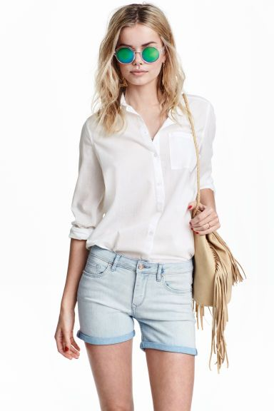Pantaloni scurți din denim | H&M