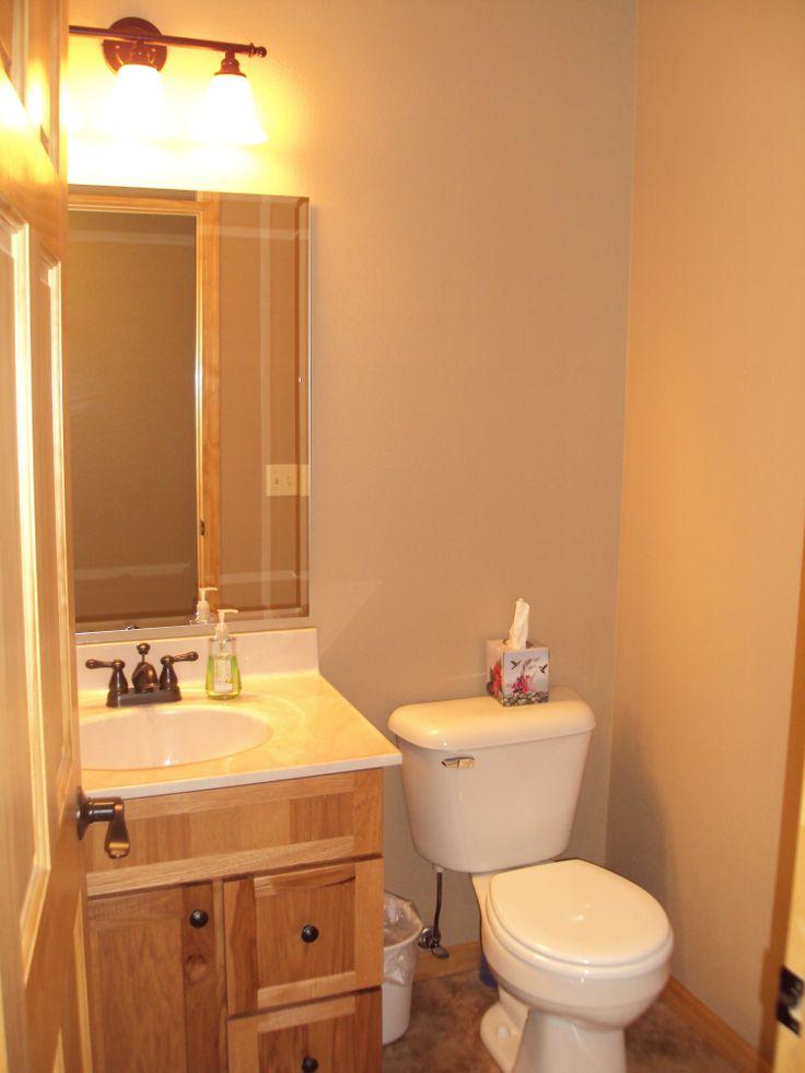 Main Level Half Bathroom Deep Snow Cabin Lead Sd Pinterest Bathroom
