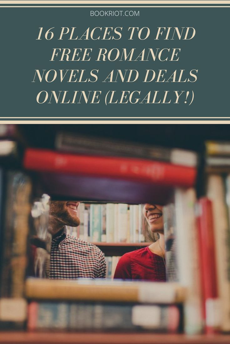 Where to find free romance novels and deals online (legally!).