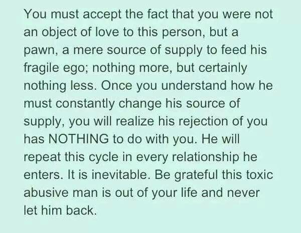 from Javion narcissist dating cycle