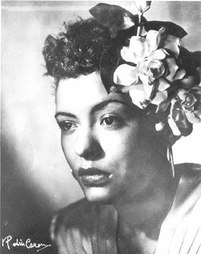 Billie Holiday had such a beautiful, yet sorrowful voice. I love her music. There's such powerful lyrical content, and the intensity which she sang with, is unparalleled.