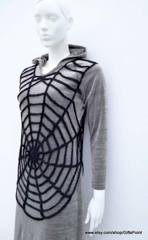 PDF Pattern Crochet Spider Web Halloween Costume por PatternsIsland