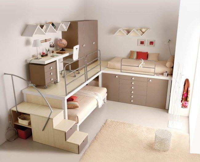 Die besten 25+ Etagenbett mit stauraum Ideen auf Pinterest - kinderzimmer einrichtung mobel auswahlen
