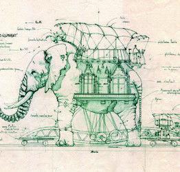 L'éléphant à essayer à #Nantes