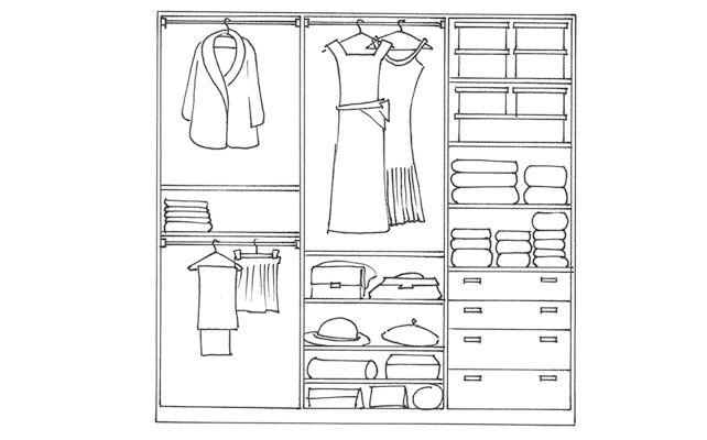 I consigli utili per sistemare gli spazi nel guardaroba
