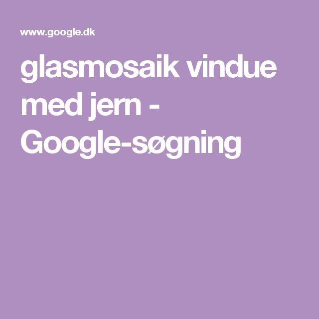glasmosaik vindue med jern - Google-søgning